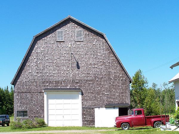 William Tasker - Barn and Old Pickup