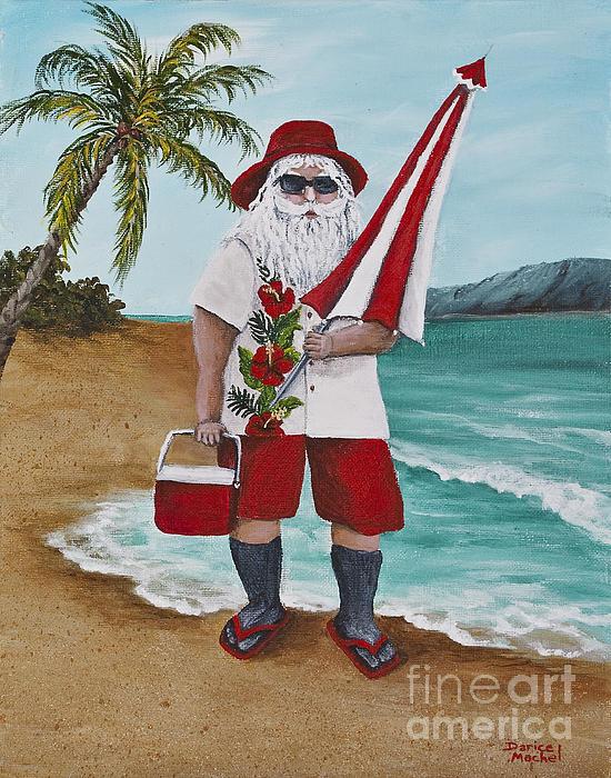 Darice Machel McGuire - Beachen Santa