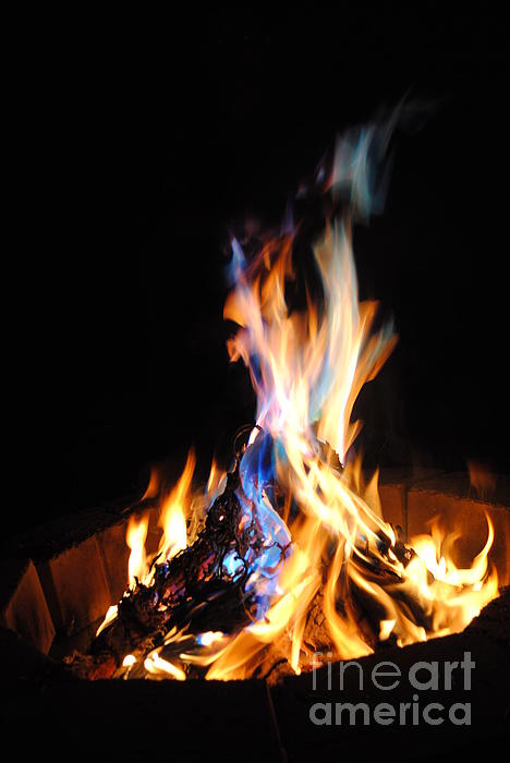 Mia Hopkins - Blue Campfire