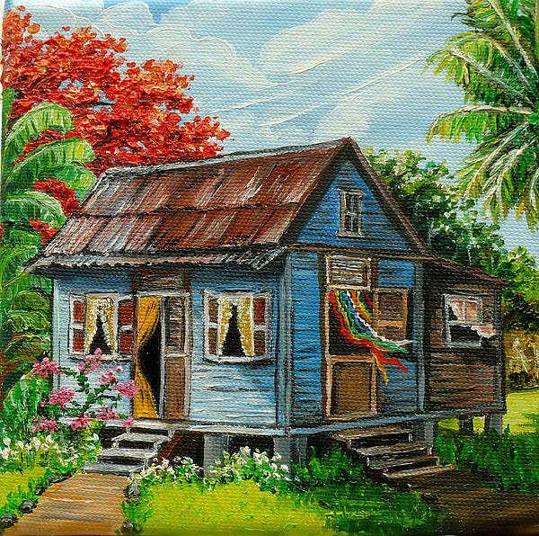 Karin  Dawn Kelshall- Best - Blue Caribbean House