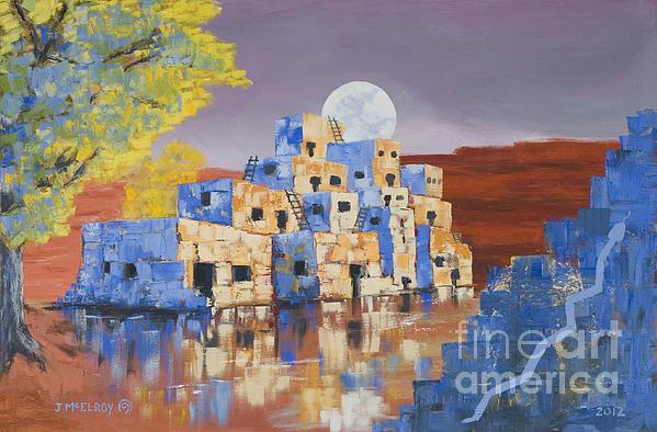 Jerry McElroy - Blue Serpent Pueblo