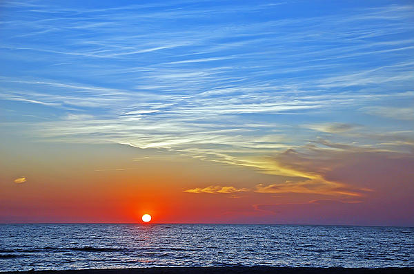 Aimee L Maher Photography and Art Visit ALMGallerydotcom - Blue Sky Sunset