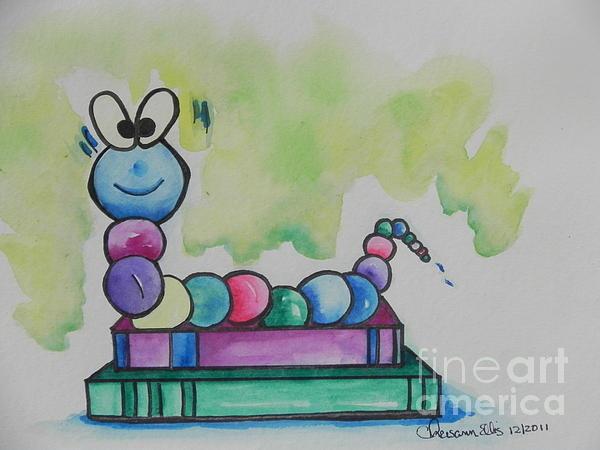 Chrisann Ellis - Book Worm helps Children Read