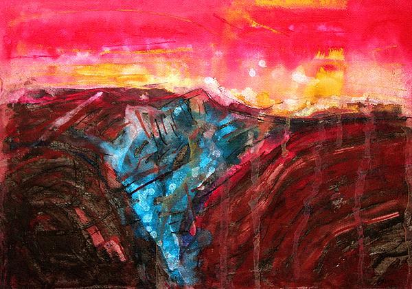 Sol Luckman - Borrego Badlands original painting