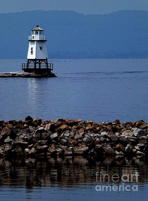 James Aiken - Burlington Breakwater North Lighthouse