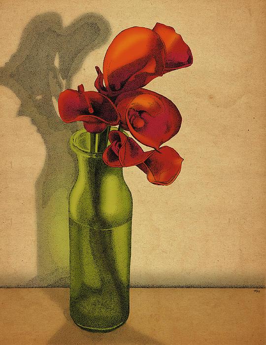 Meg Shearer - Calla Lilies in Bloom