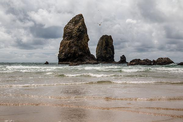 Kristina Rinell - Cannon Beach Clouds
