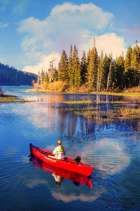 Lynn Bauer - Canoe Into The Blue