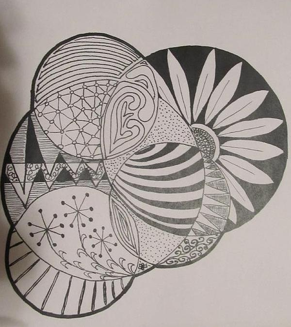 Sharon Duguay - Circles of Zen Tangle