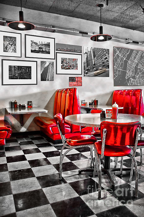 Delphimages Photo Creations - Classic Diner