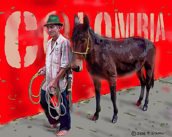Philip Gianni - Colombian Farmer