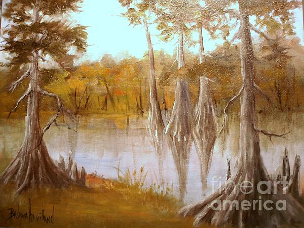Barbara Haviland - Cow Bayou Cypress Trees