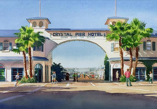 Mary Helmreich - Crystal Pier Pacific Beach