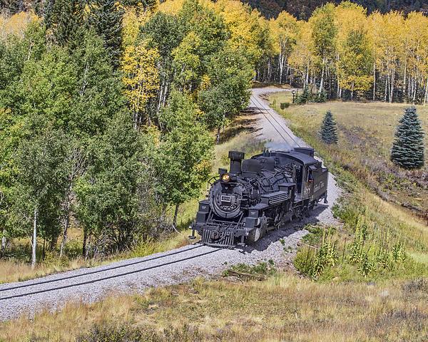 TN Fairey - Cumbres and Toltec 488 Locomotive