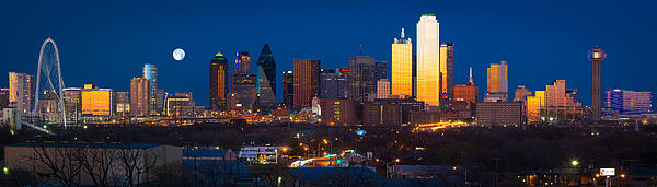 Image result for dallas skyline panorama