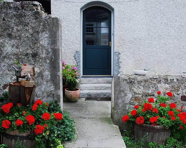Marcus Dagan - Doorway At Killruddery House Ireland