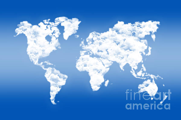 Delphimages Photo Creations - Dreamer world map