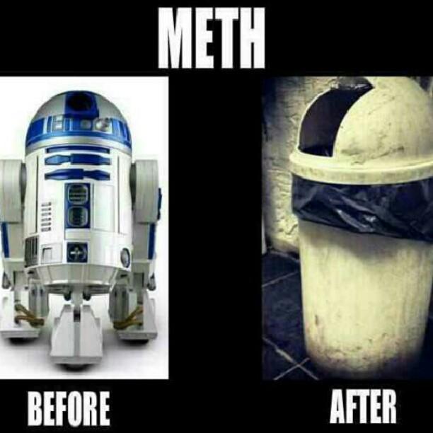 Drugs Are Bad, Mmmmk  #starwars #r2d2 IPhone X Case