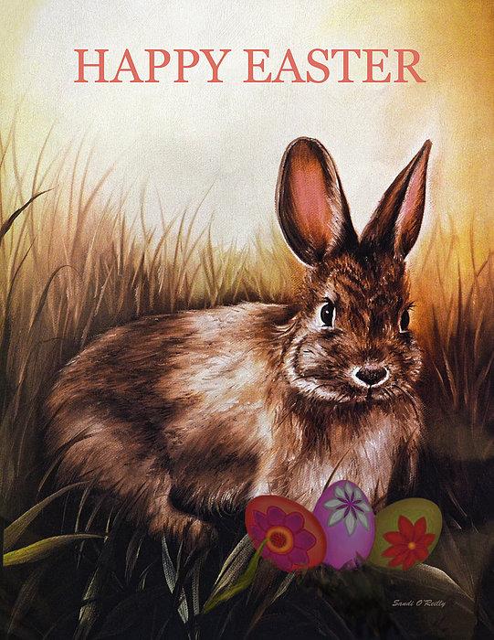 Sandi OReilly - Easter Bunny And Eggs