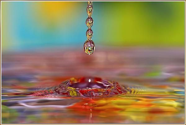Geraldine Scull - Easter drop water