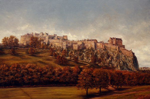 Miroslav Stojkovic - Miro - Edinburgh  Castle