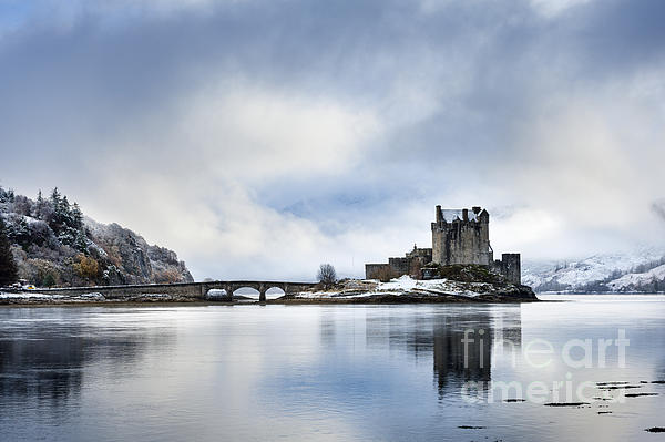 Justin Foulkes - Eilean Donan castle after a winter storm