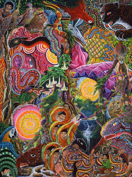 Pablo Amaringo - El Encanto de las Piedras