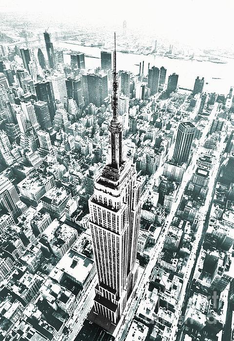 Kim Lessel - Empire State Building Blue
