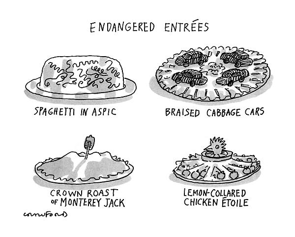 Endangered Entrees Kids T-Shirt for Sale by Michael Crawford