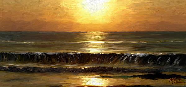 James Shepherd - Evening sun