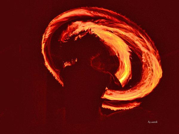 Athala Carole Bruckner - Fire