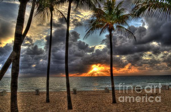 Timothy Lowry - Fort Lauderdale Beach Florida - Sunrise