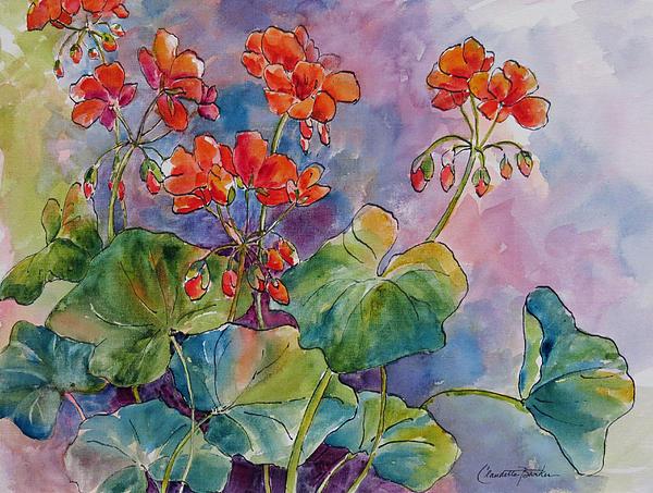 Claudette Barker - Geraniums