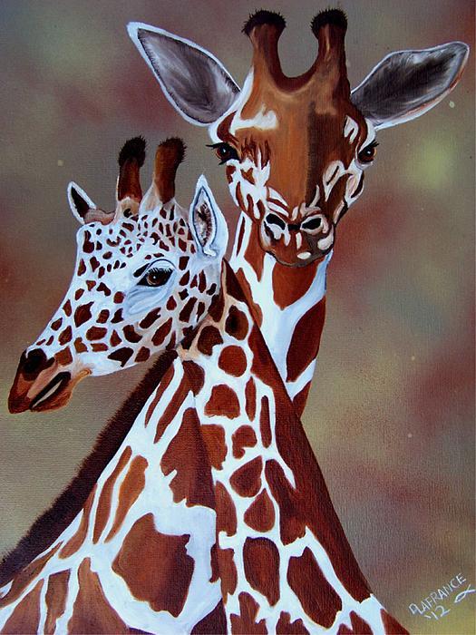 Debbie LaFrance - Giraffes