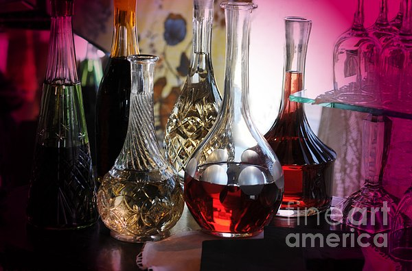 Kathleen Struckle - Glass Decanters And Glasses