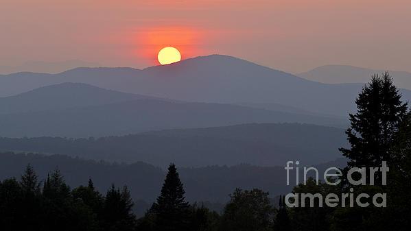 Alan L Graham - Green Mountain Sunset