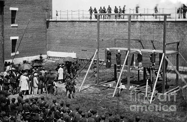 Hanging Of Lincoln Conspirators Mary Surratt Lewis Powell David Herold George Atzerodt Iphone Xs Max Case For Sale By David Call