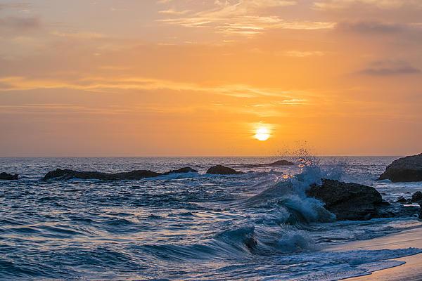 Robert VanDerWal - High Tide at Sunset