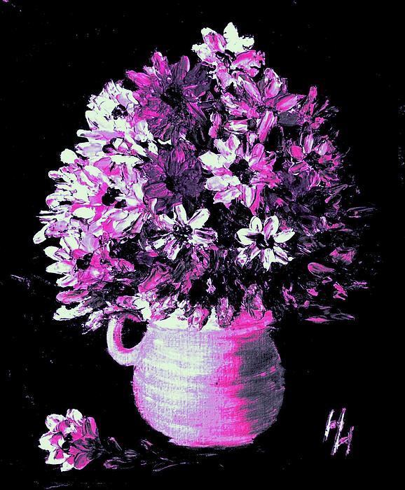 Hazel Holland - Hot Pink Flowers