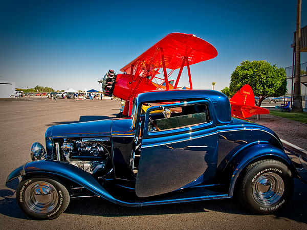 Elaine Snyder - Hot Rods and Biplanes