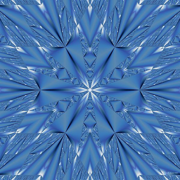 Judi Suni Hall - Ice Flower Fractal