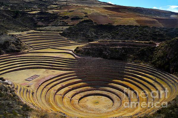Catherine Sherman - Inca Crop Circles at Moray