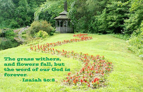 Richard Bryce and Family - Isaiah 40 verse 8 Gazebo