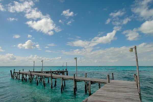 Allan Van Gasbeck - Isla Mujeres Wharf