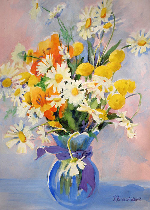 Kathy Braud - July Summer Arrangement