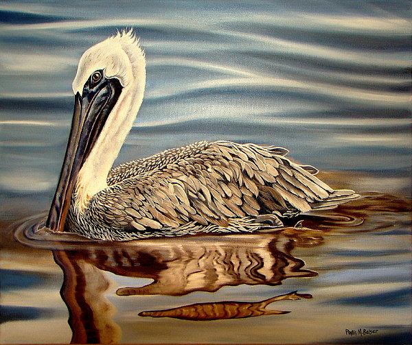 Phyllis Beiser - Juvenile Pelican
