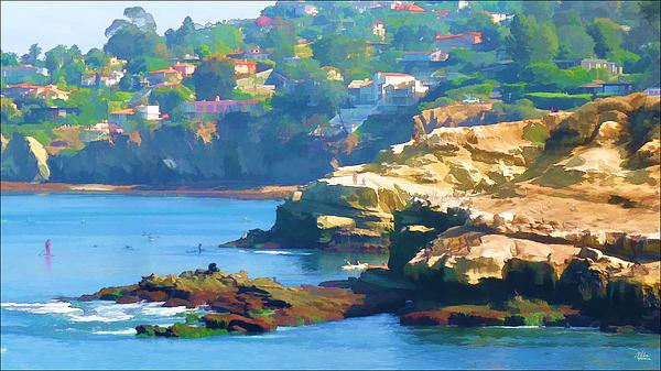 Douglas MooreZart - La Jolla California Cove and Caves