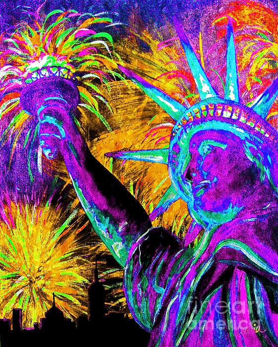 Teshia Art - Lady Liberty NYC
