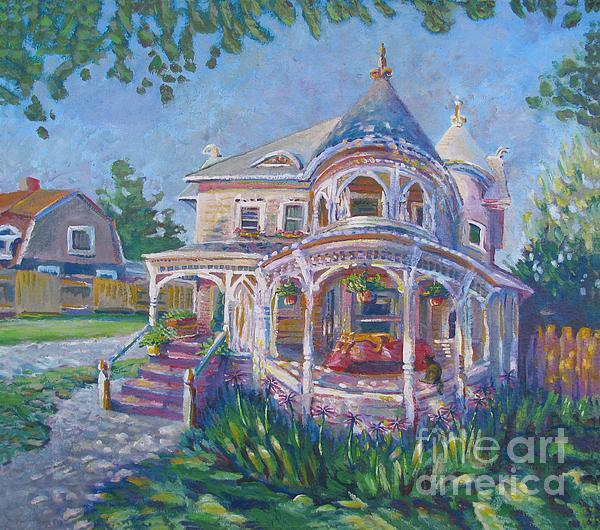 Vanessa Hadady BFA MA - Levy House shade tree