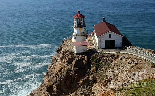 Bob Christopher - Lighthouse at Point Reyes
